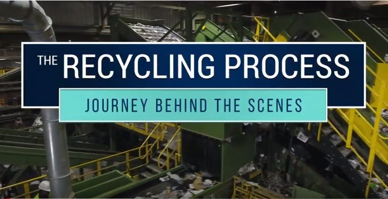 The Recycling Process-Journey Behind the Scenes