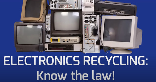 Electronics Recycling: Know the Law Video