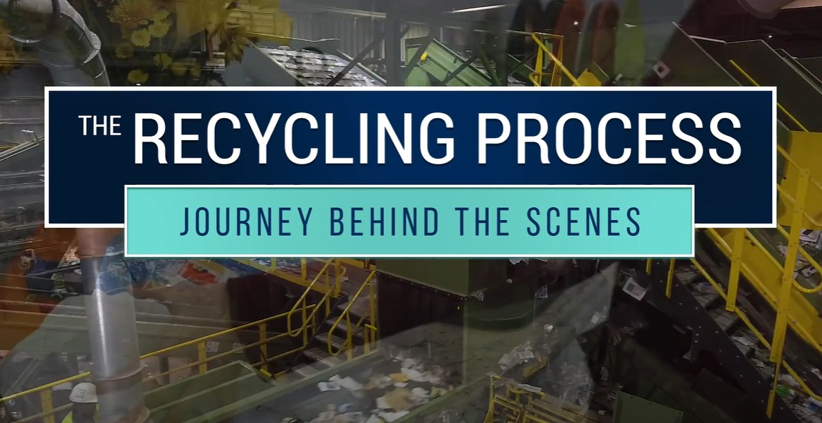 Recycling and Sorting Behind the Scenes Video